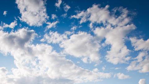 Time Lapse Cloudscape Footage