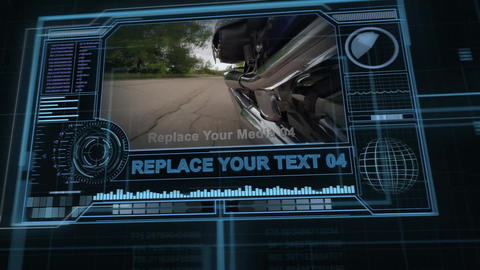 Sci-fi Screens After Effects Template