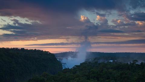 Iguazu Falls In Argentina Time Lapse Footage