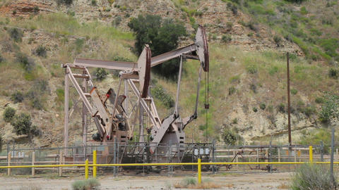Oil Well In California Live Action