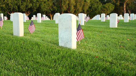US National Cemetery Footage