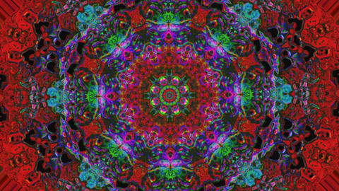 Multicolored bad trip effect light leak iridescent background. Looped animation Live Action