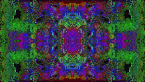 Multicolored vintage nostalgic dreamy iridescent background Live Action