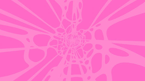 Pink Wave On Pink Background Animation