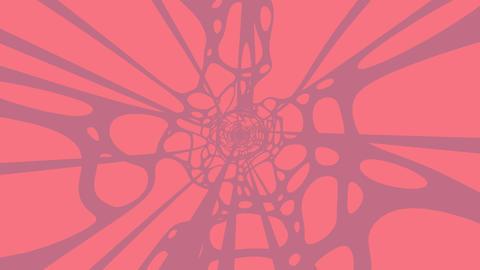 Grayish Pink Wave On Pink Background Animation