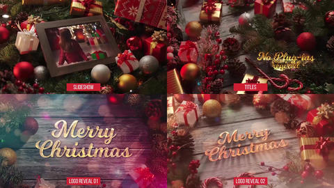 New Year and Christmas Pack After Effects Template