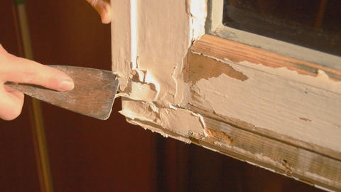 Fixing a Window Pane or Frame Live Action