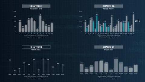 Infographics: Vertical Chart Creator V2 After Effects Template