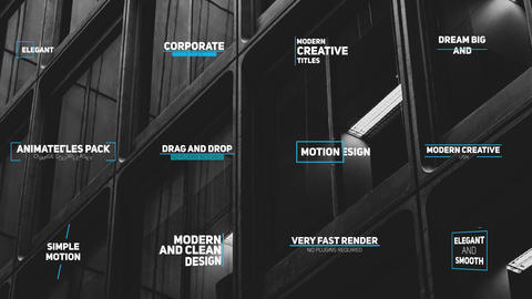Corporate Title After Effects Template