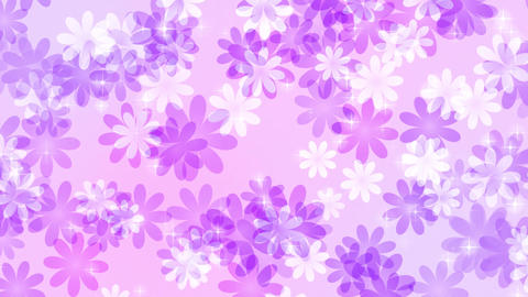 Flower-pastel-lateral-direction-purple Animation