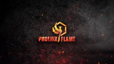 Fire-particle-logo-242418 After Effects Template
