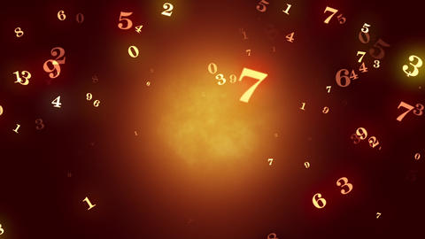 The beginning of time. Temporary space. Numerology (secret knowledge about the numbers). Intro Animation