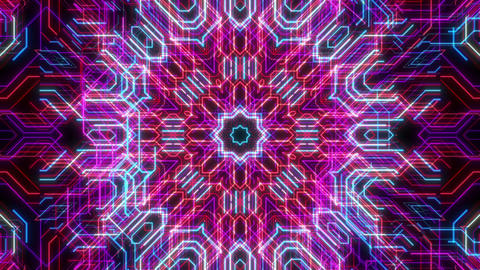 VJ Loops Animated Lines