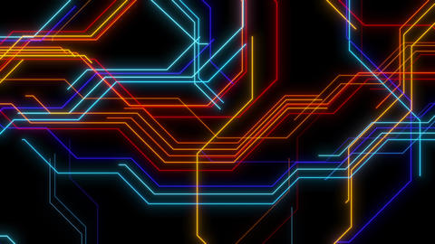 VJ Loops Animated Lines 0