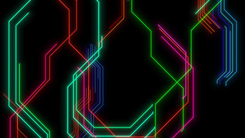 VJ Loops Animated Lines 1