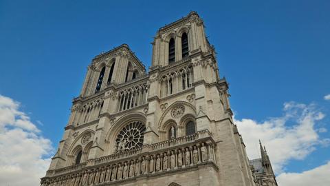 Notre Dame de Paris Time Lapse Footage