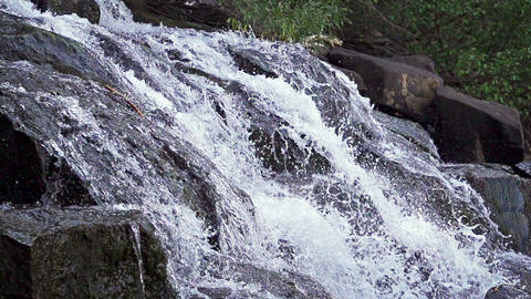 Waterfall Slow Motion Footage