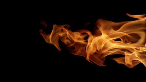 Looping Fire Element Vertical Footage