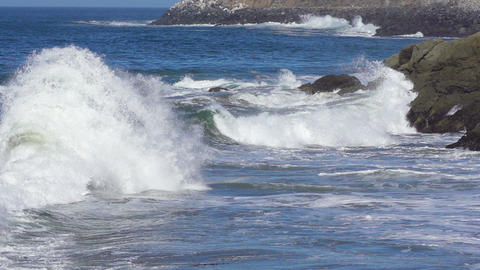 Ocean Wave Slow Motion Footage