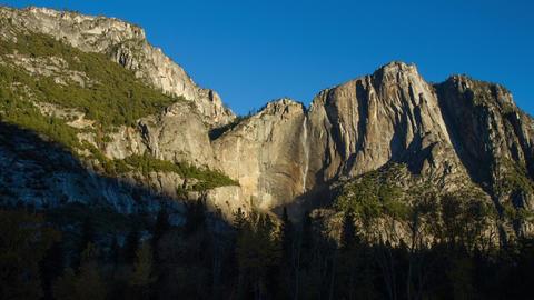 Yosemite Falls Time Lapse Footage