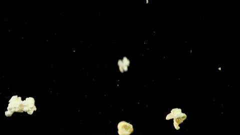Popcorn Explosion Slow Motion Live Action