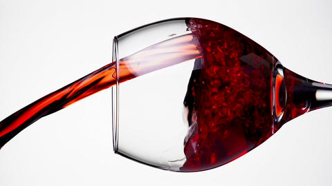 Wine Pouring Slow Motion Footage