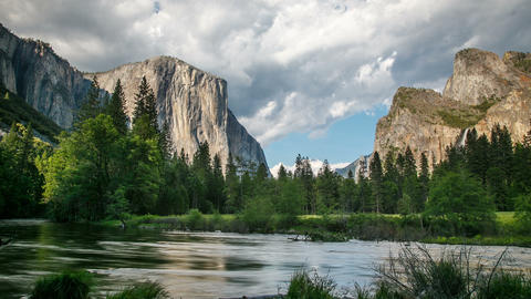 Yosemite National Park Time Lapse Footage