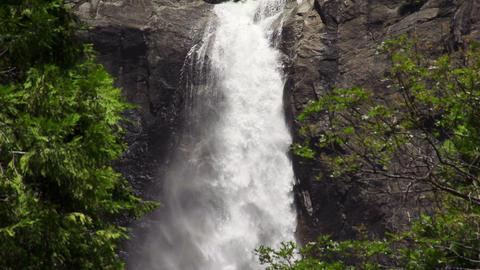 Yosemite Rapids Slow Motion Footage