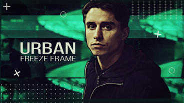 Urban Freeze Frame After Effects Template