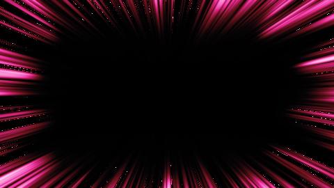 線が短い集中線 ピンク アルファ付 CG動画