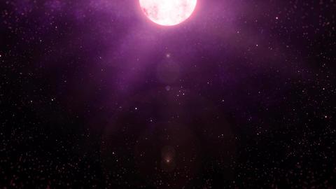 Mov196 moon night sky loop 07 CG動画