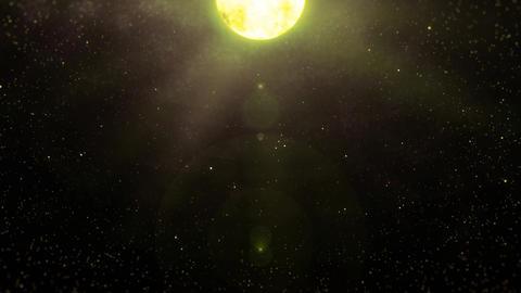 Mov196 moon night sky loop 05 CG動画