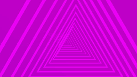 A travel into Triangle neon tunnel 6 Live影片