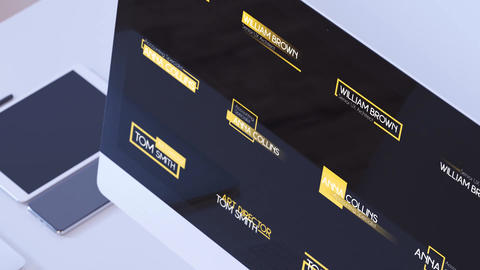 Business Lower Thirds Motion Graphics Template