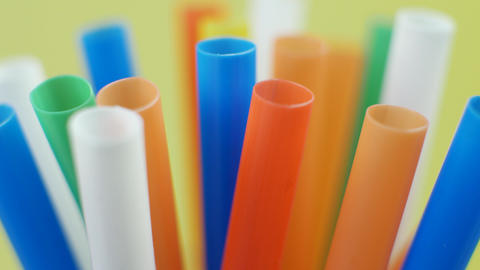 Colored Cocktail Drinking Straws or Tube Live Action