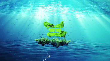 Great Amazing Water Logo After Effects Template