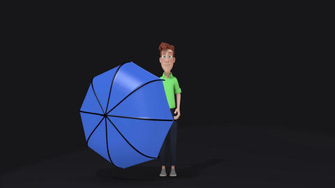 Umbrella Zap GIF