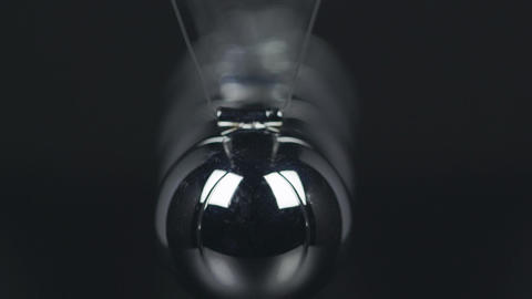 Slow Motion Newton's Cradle Footage