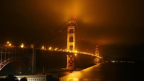 Golden Gate Bridge in San Francisco Footage