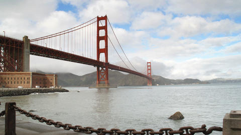 Golden Gate Bridge San Francisco Footage