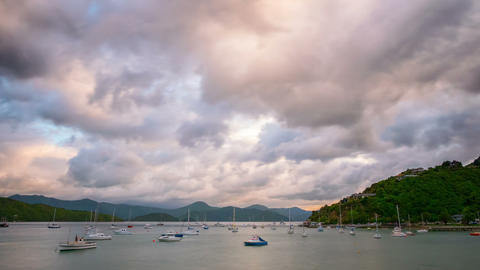 Picton New Zealand Time Lapse Footage