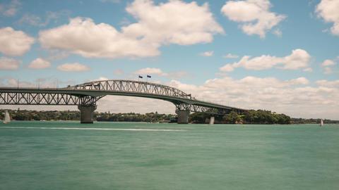 Auckland Harbour Bridge New Zealand Time Lapse Footage