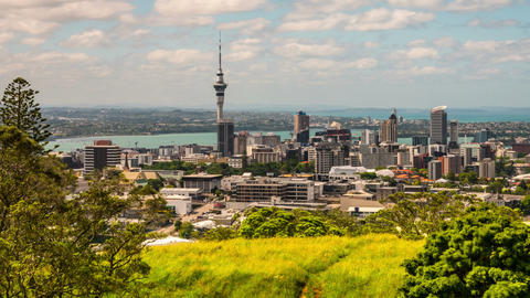 Auckland New Zealand Time Lapse Footage