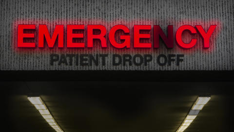 Run Down Emergency Room Animation