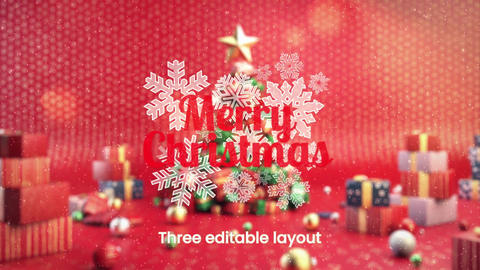 Dreamy Christmas Tree After Effects Template