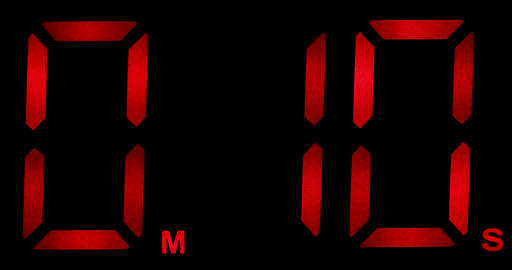 Countdown Clock Real 10 Seconds GIF