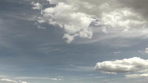Cloudy sky time lapse - 01 Live Action