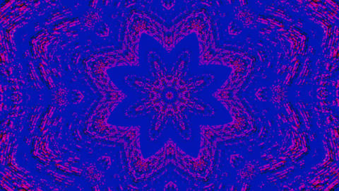 Casual dynamic web punk psychedelic shimmering background. Dreamy kaleidoscope Live Action