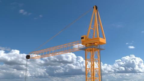 Construction Crane 3D