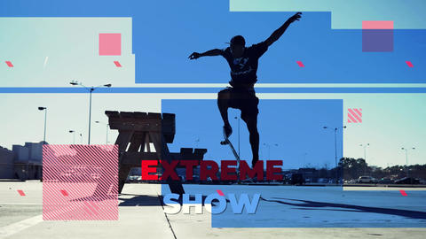 Extreme Show // Sport Event Premiere Pro Template
